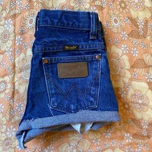 VTG wrangler shorts